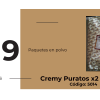 Cremy PURATOS 4x4 x2 Kgs.
